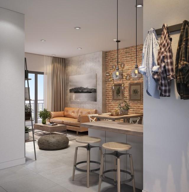 Làm đẹp căn hộ nhỏ 25m2 với cách sắp xếp nội thất thông minh - 4