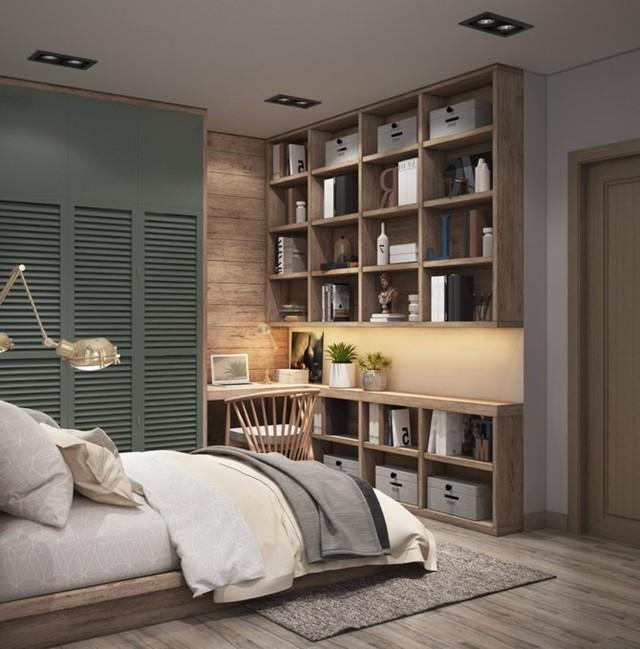 Làm đẹp căn hộ nhỏ 25m2 với cách sắp xếp nội thất thông minh - 6