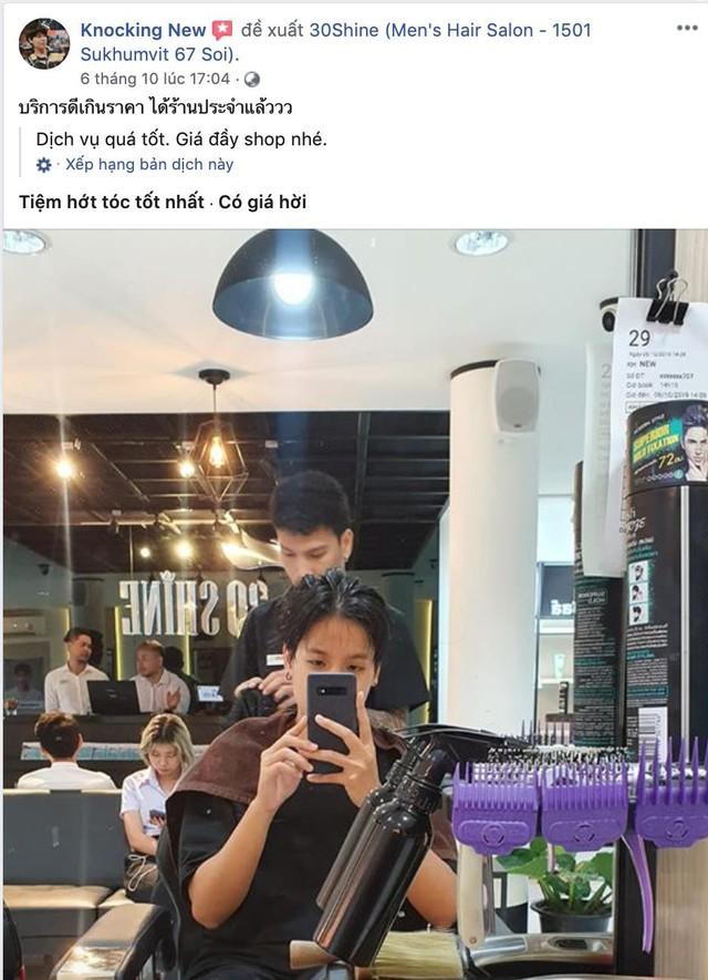 Chuỗi tóc nam 30Shine vừa mở chi nhánh đầu tiên ở Thái, khách đông nườm nượp chẳng kém gì Việt Nam - Ảnh 6.