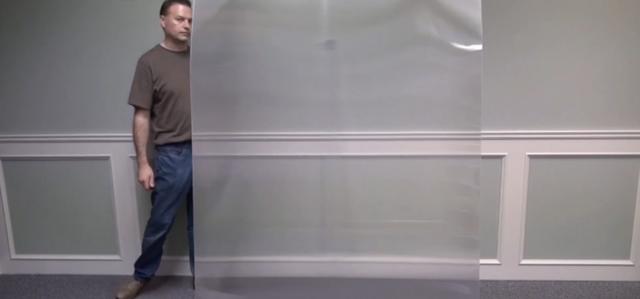 Một công ty Canada chế tạo ra vật liệu tàng hình, một lớp chắn có thể khiến người đứng đằng sau nó biến mất! - Ảnh 1.