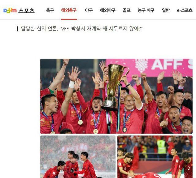 Nhiều CĐV Hàn Quốc bất ngờ kêu gọi HLV Park Hang-seo nên rời Việt Nam, tìm bến đỗ mới - Ảnh 1.