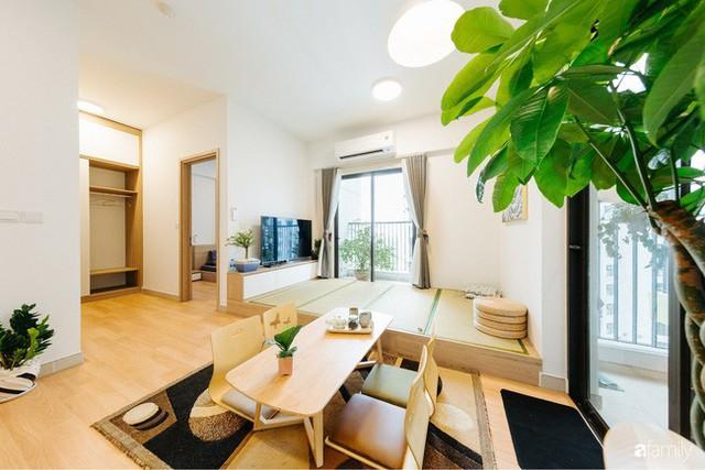 Căn hộ nhỏ thiết kế theo phong cách Nhật của cặp vợ chồng trẻ yêu thích cuộc sống an yên ở Hà Nội - Ảnh 4.