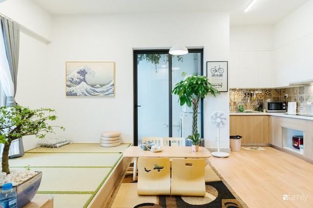 Căn hộ nhỏ thiết kế theo phong cách Nhật của cặp vợ chồng trẻ yêu thích cuộc sống an yên ở Hà Nội - Ảnh 9.