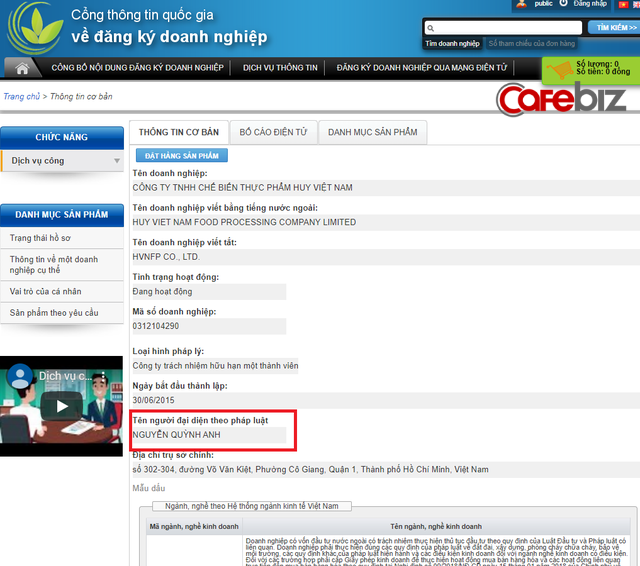 Bất ngờ: Trước khi khai tử một loạt cửa hàng Món Huế và bị tố quỵt nợ hàng chục nhà cung cấp, Huy Việt Nam thay đại diện pháp luật, hiện website không thể truy cập - Ảnh 3.