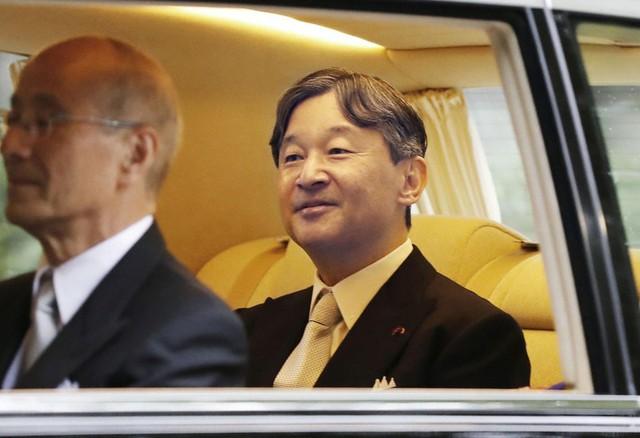 Nhật hoàng Naruhito chính thức đăng quang - Ảnh 1.