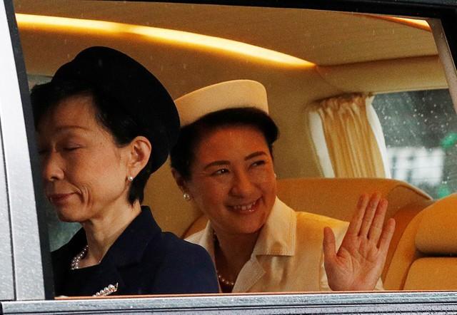 Nhật hoàng Naruhito chính thức đăng quang - Ảnh 2.