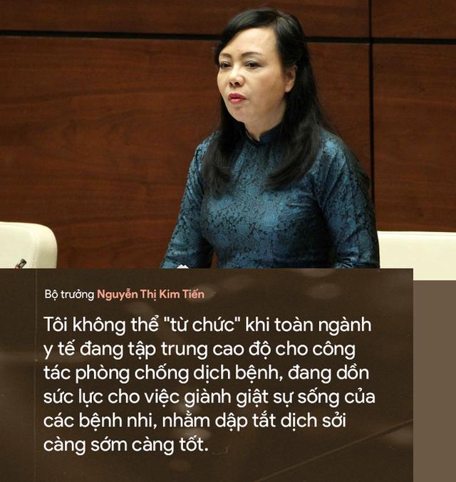 9 câu nói ấn tượng của Bộ trưởng Y tế Nguyễn Thị Kim Tiến - Ảnh 2.