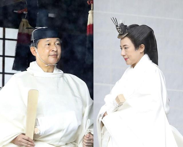 Nhật hoàng Naruhito chính thức đăng quang - Ảnh 3.