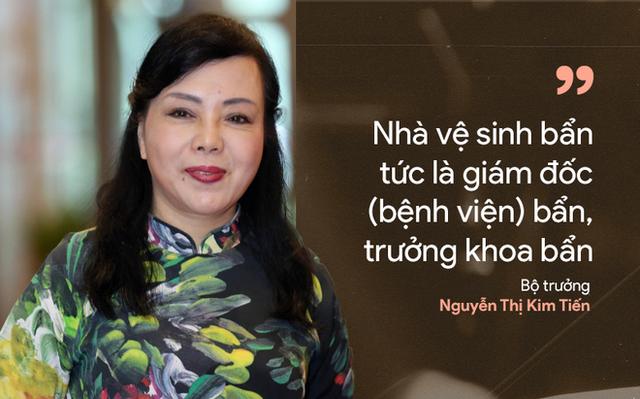 9 câu nói ấn tượng của Bộ trưởng Y tế Nguyễn Thị Kim Tiến - Ảnh 4.