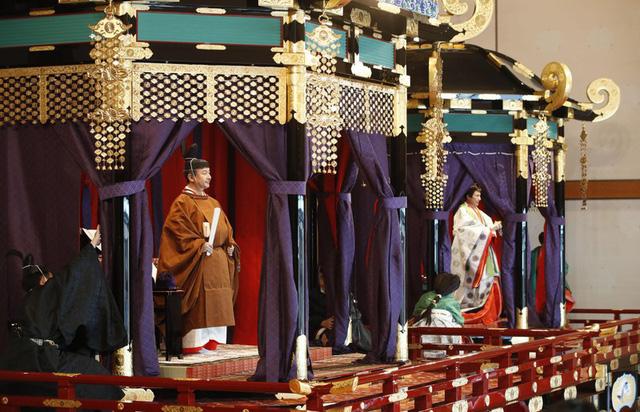 Nhật hoàng Naruhito chính thức đăng quang - Ảnh 5.