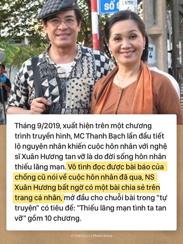 Thâm cung bí sử hơn 20 năm vợ chồng của MC Thanh Bạch - NS Xuân Hương qua 10 chương đầy gay cấn và drama giật mình - Ảnh 1.