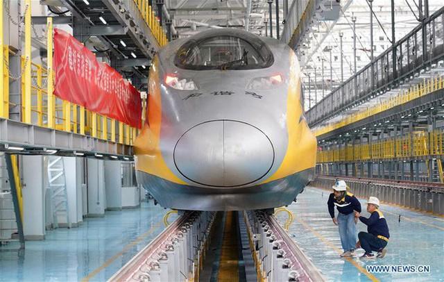 Đường sắt cao tốc của Trung Quốc chạy thử nghiệm đạt tốc độ kỷ lục 385 km/h, cao hơn 10% so với tốc độ thiết kế - Ảnh 1.