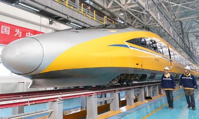 Đường sắt cao tốc của Trung Quốc chạy thử nghiệm đạt tốc độ kỷ lục 385 km/h, cao hơn 10% so với tốc độ thiết kế - Ảnh 4.