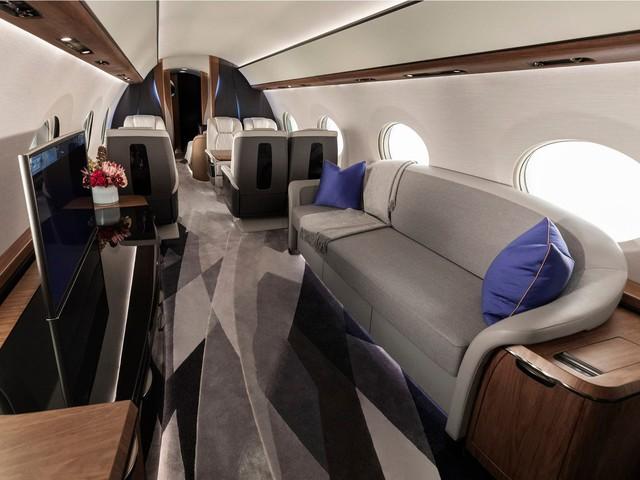 Cận cảnh máy bay cá nhân lớn nhất thế giới giá 75 triệu USD - Ảnh 3.