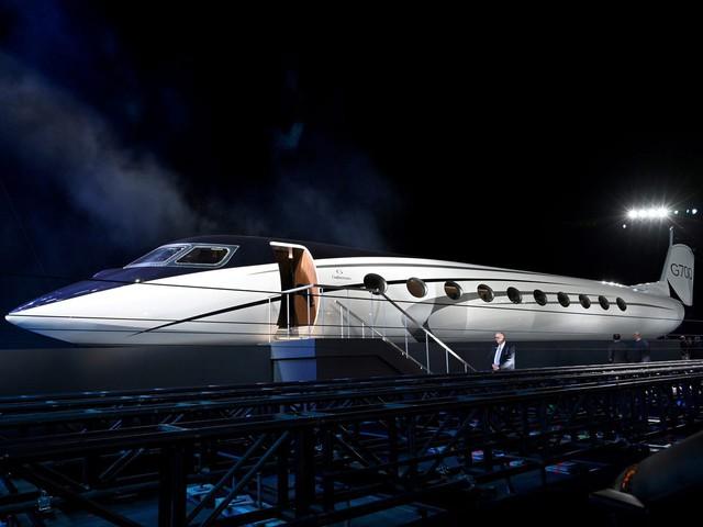 Cận cảnh máy bay cá nhân lớn nhất thế giới giá 75 triệu USD - Ảnh 7.