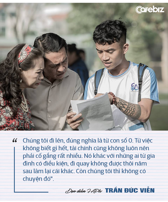 """Đạo diễn FAPtv kể chuyện từ 0,5 điểm toán thi đại học đến nút kim cương Youtube đầu tiên của Việt Nam: """"Đừng lấy bất cứ ai ra làm cột mốc hay thước đo cho đời bạn!"""" - Ảnh 5."""