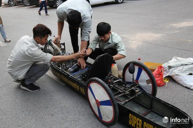 """made in việt nam - photo 1 15700699815402059451370 - Tự hào chiếc xe """"Made in Việt Nam"""", chạy hơn 1.000 km chỉ tốn một lít xăng"""