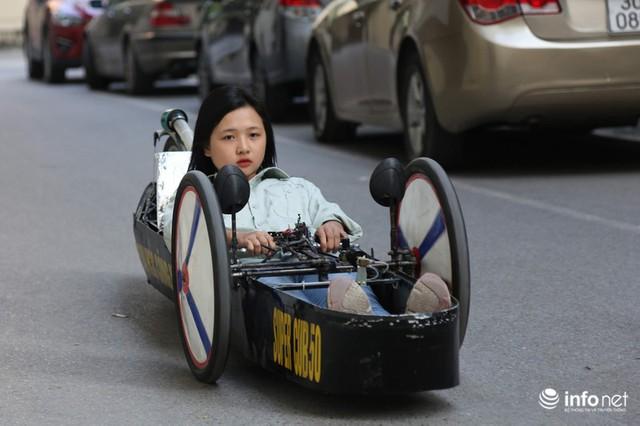 """made in việt nam - photo 13 15700699815731899436155 - Tự hào chiếc xe """"Made in Việt Nam"""", chạy hơn 1.000 km chỉ tốn một lít xăng"""