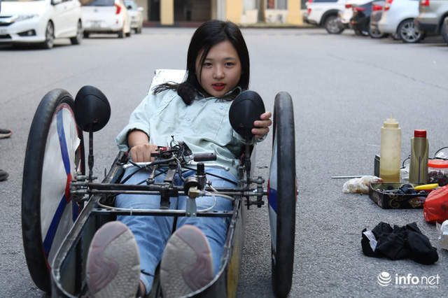 """made in việt nam - photo 14 1570069981575447421926 - Tự hào chiếc xe """"Made in Việt Nam"""", chạy hơn 1.000 km chỉ tốn một lít xăng"""