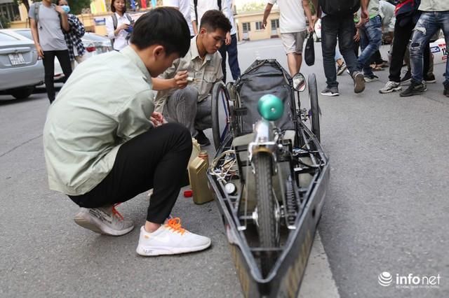 """made in việt nam - photo 2 15700699815421491308691 - Tự hào chiếc xe """"Made in Việt Nam"""", chạy hơn 1.000 km chỉ tốn một lít xăng"""