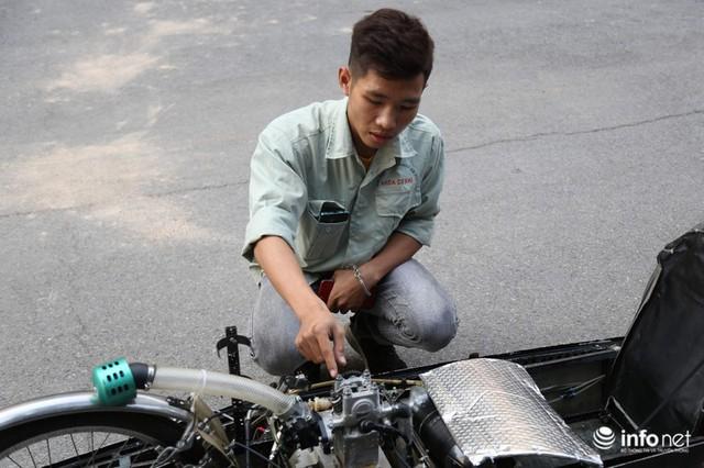 """made in việt nam - photo 5 15700699815481717765685 - Tự hào chiếc xe """"Made in Việt Nam"""", chạy hơn 1.000 km chỉ tốn một lít xăng"""