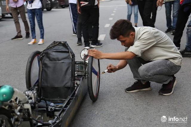 """made in việt nam - photo 7 1570069981554752047332 - Tự hào chiếc xe """"Made in Việt Nam"""", chạy hơn 1.000 km chỉ tốn một lít xăng"""