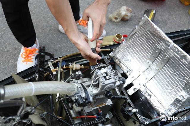"""made in việt nam - photo 8 1570069981556315455642 - Tự hào chiếc xe """"Made in Việt Nam"""", chạy hơn 1.000 km chỉ tốn một lít xăng"""