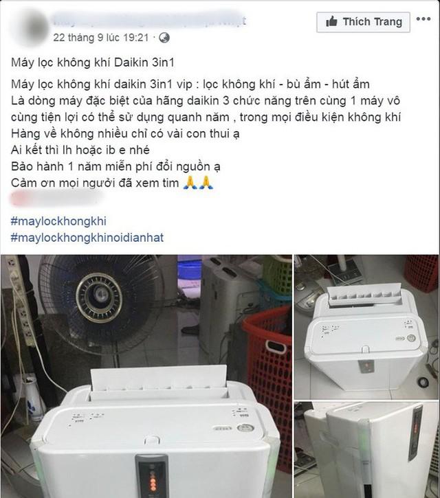 Người Hà Nội bỏ tiền triệu mua khẩu trang xịn và máy lọc không khí, xuất hiện nhiều lời chào hàng chưa kiểm định trên MXH - Ảnh 7.