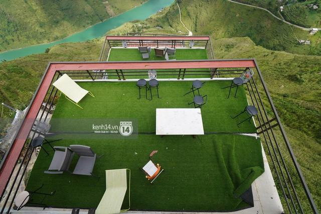 Chùm ảnh: Cận cảnh toà nhà 7 tầng xây dựng trái phép trên đỉnh Mã Pì Lèng - Ảnh 13.