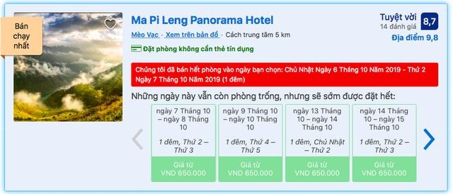 """Nghịch lý vụ Panorama Hotel trên đèo Mã Pì Lèng: Mặc dân mạng bức xúc hò nhau vote 1 sao, khách sạn vẫn """"cháy hàng"""" - Ảnh 2."""