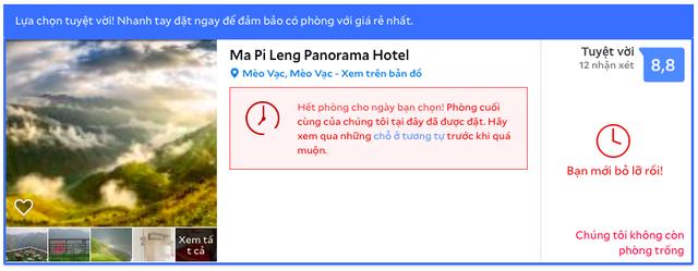 """Nghịch lý vụ Panorama Hotel trên đèo Mã Pì Lèng: Mặc dân mạng bức xúc hò nhau vote 1 sao, khách sạn vẫn """"cháy hàng"""" - Ảnh 3."""