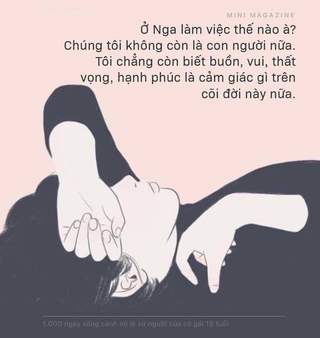 1.000 ngày sống cảnh nô lệ xứ người của cô gái 18 tuổi: Con chết mất… con muốn được về Việt Nam chết - Ảnh 12.