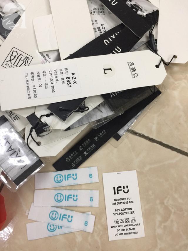 Vụ 4 tấn quần áo nhập lậu được cắt mác, gắn tên thương hiệu NEM, IFU: Chủ lô hàng ngất xỉu, Quản lý thị trường mời nhãn hàng phối hợp làm rõ nguồn gốc - Ảnh 13.