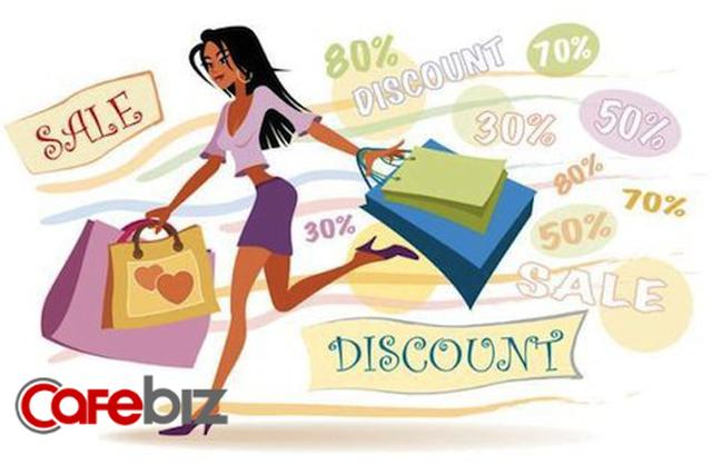 Đọc vị khách hàng nữ: Cứ thấy khuyến mại là sáng mắt ra, kể cả mua hàng cao cấp (Phần 1) - Ảnh 1.