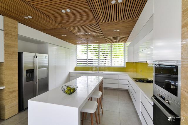 Resort thu nhỏ trong ngôi nhà phố 3 tầng với góc nào cũng có ánh sáng và cây xanh ở TP. HCM - Ảnh 11.