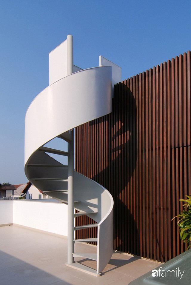 Resort thu nhỏ trong ngôi nhà phố 3 tầng với góc nào cũng có ánh sáng và cây xanh ở TP. HCM - Ảnh 19.
