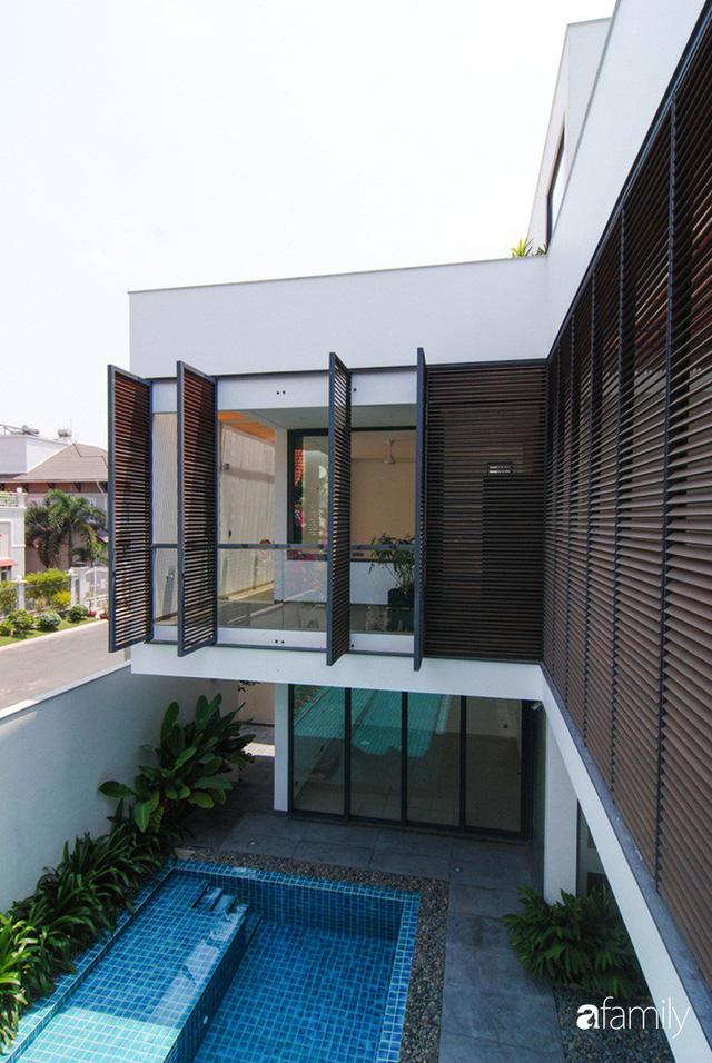 Resort thu nhỏ trong ngôi nhà phố 3 tầng với góc nào cũng có ánh sáng và cây xanh ở TP. HCM - Ảnh 6.