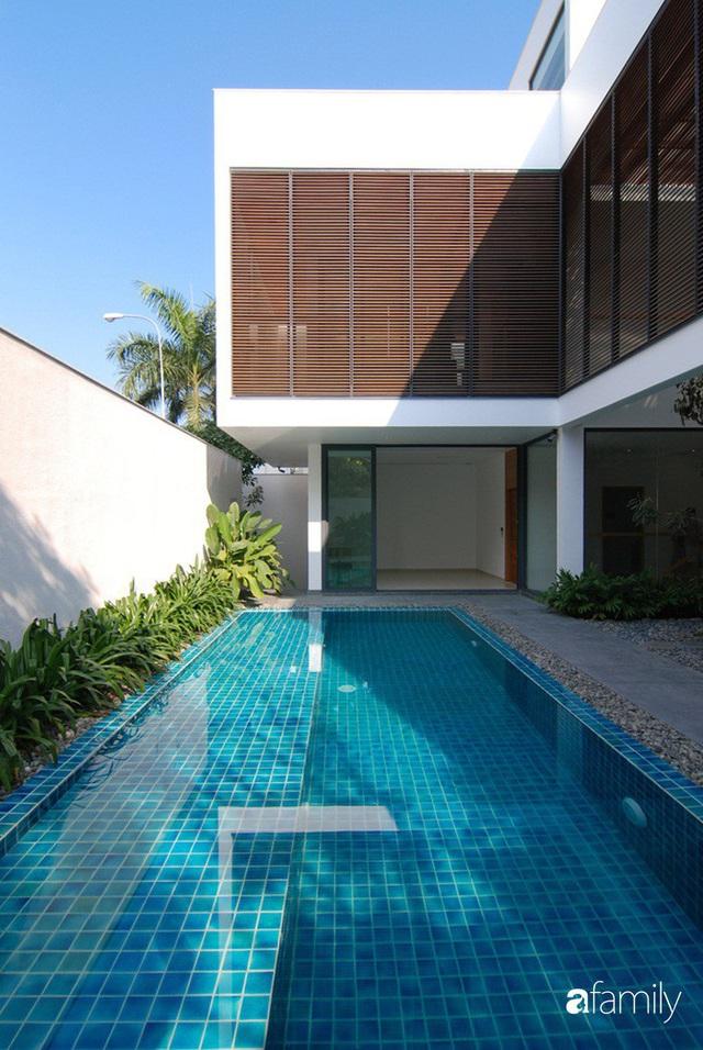 Resort thu nhỏ trong ngôi nhà phố 3 tầng với góc nào cũng có ánh sáng và cây xanh ở TP. HCM - Ảnh 7.