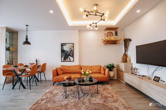 Mua căn hộ 940 triệu, thi công hết 118 triệu, đôi vợ chồng 9x đã biến căn hộ 67m² thành không gian sống đẹp đến từng chi tiết - Ảnh 1.