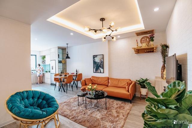 Mua căn hộ 940 triệu, thi công hết 118 triệu, đôi vợ chồng 9x đã biến căn hộ 67m² thành không gian sống đẹp đến từng chi tiết - Ảnh 2.