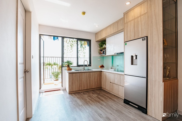 Mua căn hộ 940 triệu, thi công hết 118 triệu, đôi vợ chồng 9x đã biến căn hộ 67m² thành không gian sống đẹp đến từng chi tiết - Ảnh 12.