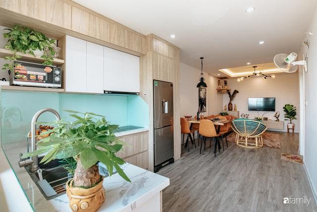 Mua căn hộ 940 triệu, thi công hết 118 triệu, đôi vợ chồng 9x đã biến căn hộ 67m² thành không gian sống đẹp đến từng chi tiết - Ảnh 14.