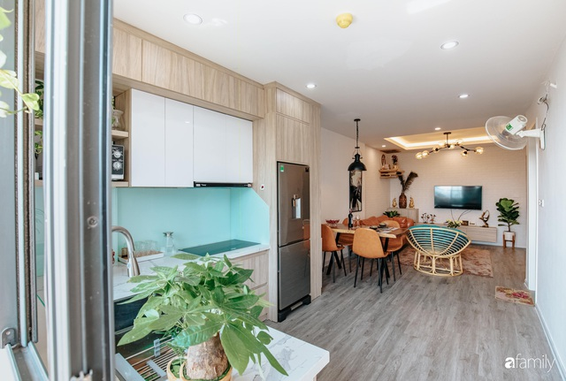 Mua căn hộ 940 triệu, thi công hết 118 triệu, đôi vợ chồng 9x đã biến căn hộ 67m² thành không gian sống đẹp đến từng chi tiết - Ảnh 15.