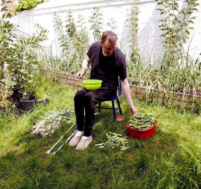 Tận dụng mảnh đất nhỏ phía sau nhà, người đàn ông đảm đang trồng đủ loại rau quả sạch cho cả nhà thưởng thức - Ảnh 19.