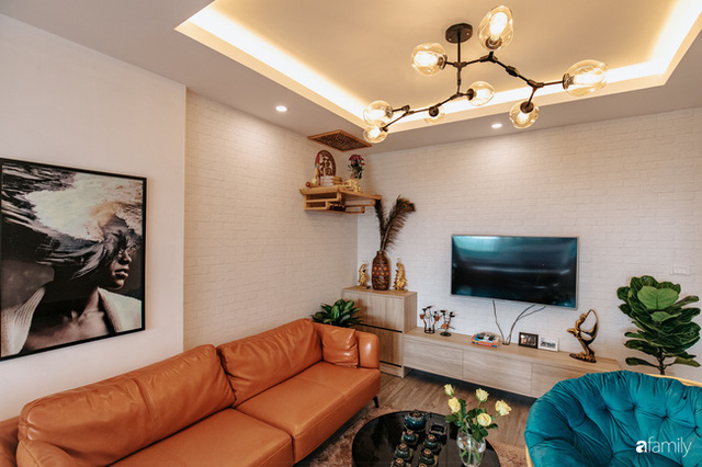 Mua căn hộ 940 triệu, thi công hết 118 triệu, đôi vợ chồng 9x đã biến căn hộ 67m² thành không gian sống đẹp đến từng chi tiết - Ảnh 4.