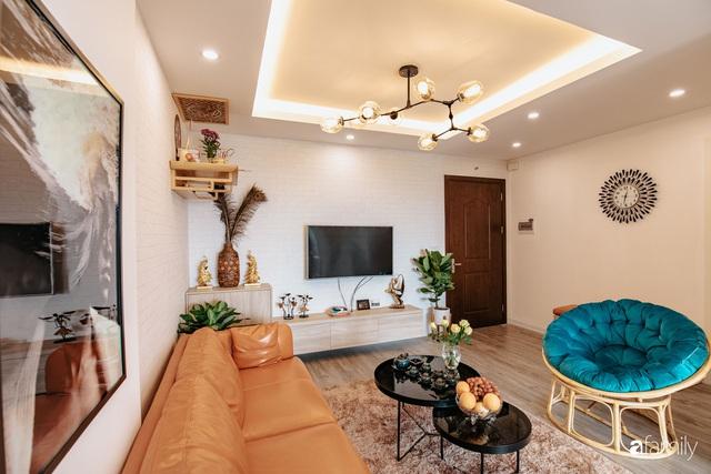 Mua căn hộ 940 triệu, thi công hết 118 triệu, đôi vợ chồng 9x đã biến căn hộ 67m² thành không gian sống đẹp đến từng chi tiết - Ảnh 5.