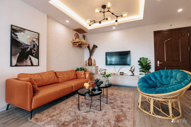 Mua căn hộ 940 triệu, thi công hết 118 triệu, đôi vợ chồng 9x đã biến căn hộ 67m² thành không gian sống đẹp đến từng chi tiết - Ảnh 6.