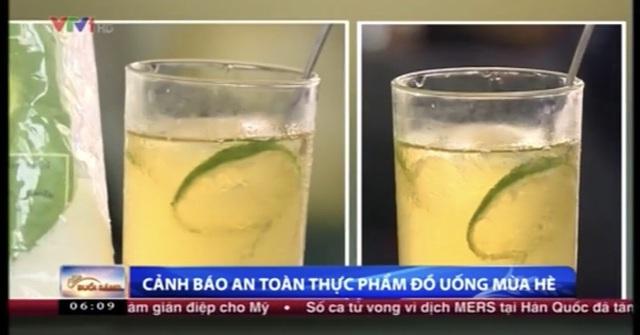 Trà chanh, trà quất 10k/cốc: Cẩn thận kẻo rước họa nhiễm độc mãn tính - Ảnh 2.
