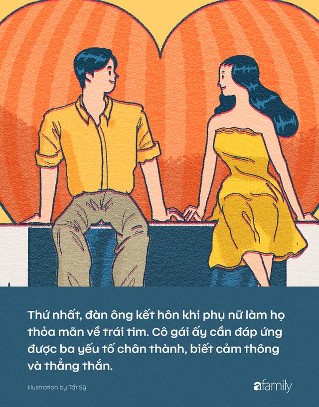 Phụ nữ kết hôn khi trái tim bị chinh phục, đàn ông kết hôn khi được thỏa mãn điều gì? - Ảnh 1.
