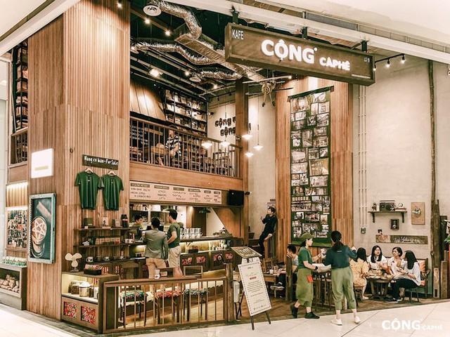 """cộng cà phê - photo 1 15727041629392061982029 - Cộng Cà phê tiếp tục """"xuất ngoại"""": chi nhánh đầu tiên tại Malaysia vừa khai trương khách đã đến đông nghịt"""